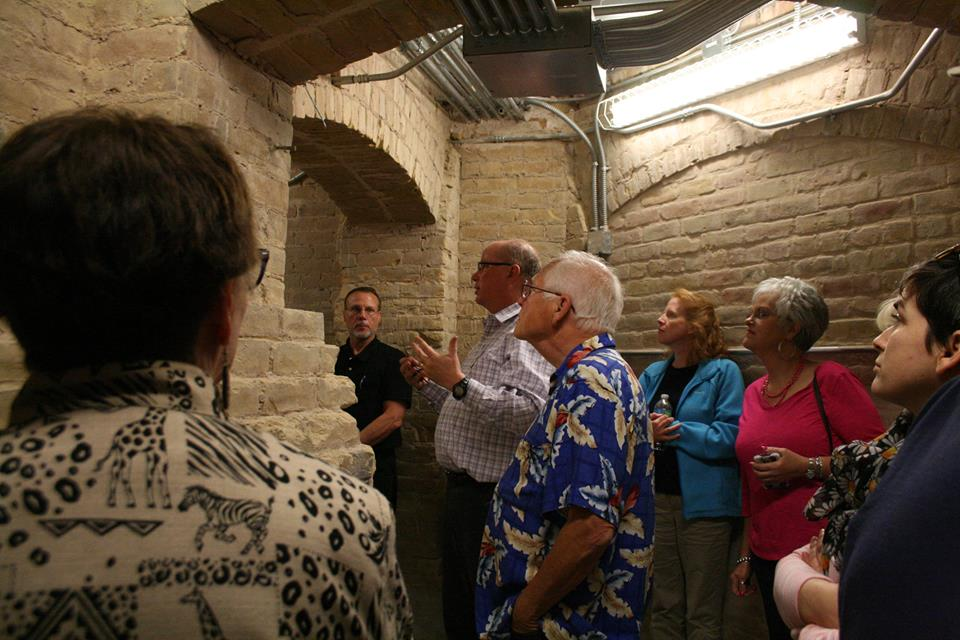 tour of historic Comal County courthouse