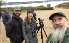 birders at big sit