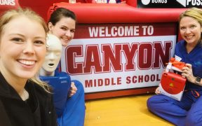 Comal ISD Middle-School Students Learn to Stop the Bleed
