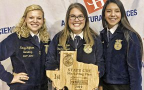 CLHS FFA State Champs Marketing
