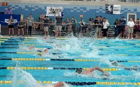 Canyon Lake Hawks swim team
