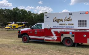 Canyon Lake Fire/EMS Mobile Intensive Care Unit