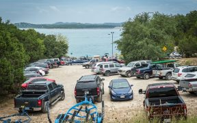 Canyon Lake boat ramp