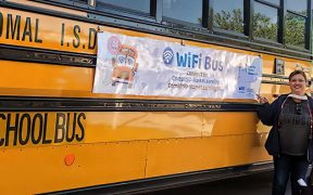 Comal ISD WiFi Bus