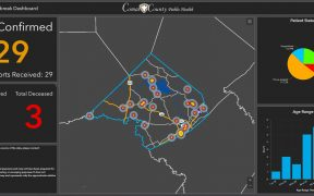 map of covid-19 cases in Comal County