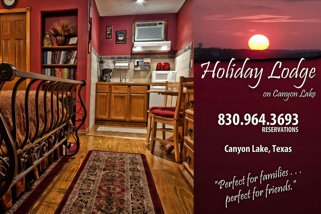 Holiday Lodge ad