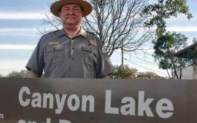 Canyon Lake USACE Manager Javier Perez