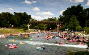 tubers in the comal river
