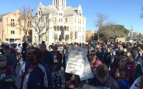Martin Luther King Day March in New Braunfels