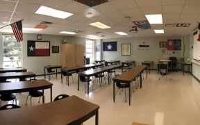 Mountain Valley Middle School classroom