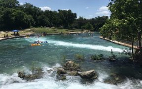 tubing on the comal river